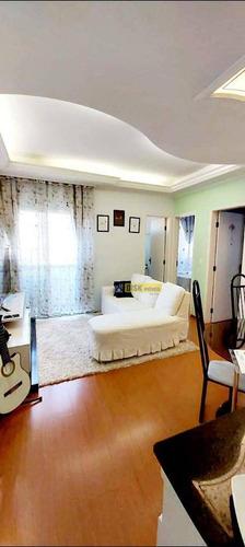 Apartamento Com 2 Dormitórios À Venda, 50 M² Por R$ 230.000,00 - Demarchi - São Bernardo Do Campo/sp - Ap1901