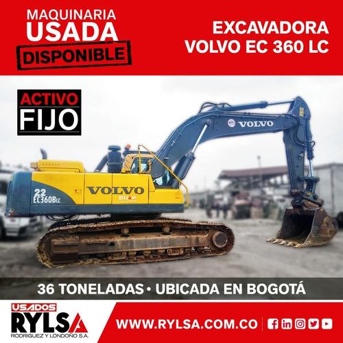 Excavadora Volvo Ec 360 Lc Usada