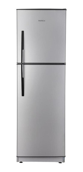 Heladera Patrick HPK136 platino con freezer 300L 198V - 242V