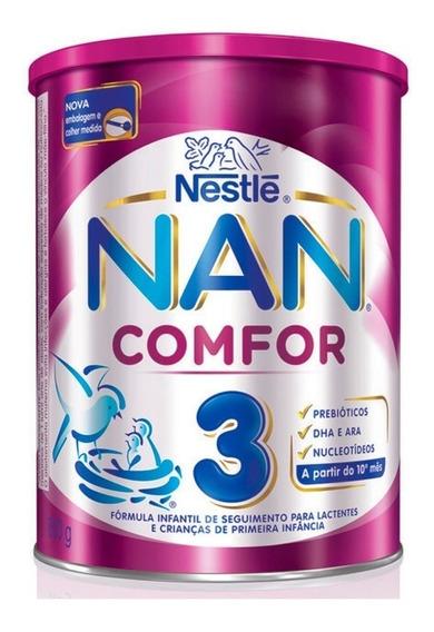 Leite Nan Comfor 3 800g