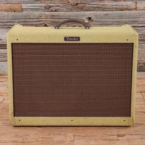 Fender Blues Deluxe Ressiue 40w Mexico + Permuto