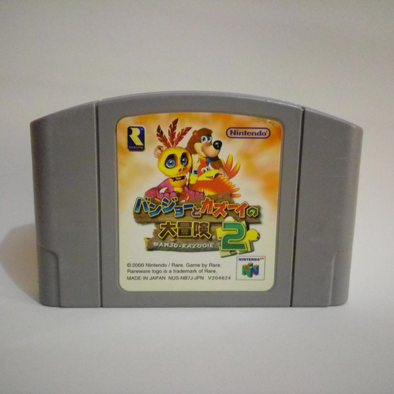 Banjo Kazooie 2 N64 - Nintendo 64 - Original Japonês