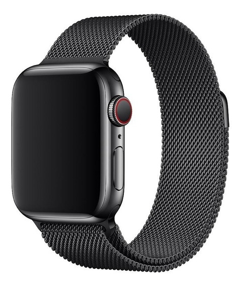 Correa Apple Watch Acero Milanese 42/44mm Iwatch J12