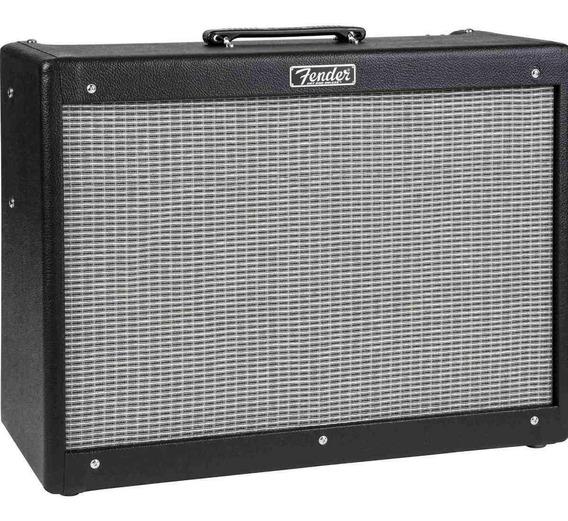 Amplificador Fender Hot Rod Deluxe III 40W valvular negro y plata 220V