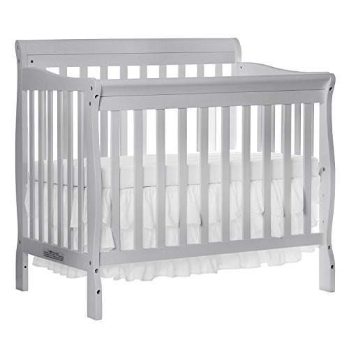 Dream On Me Aden Convertible Mini Cuna 4 En 1, Gris