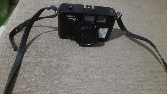 Raro016 - Câmera Yashica Me 1 Antiga Colecionador