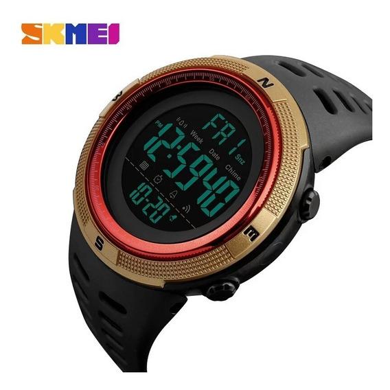 Relógio De Pulso Digital Esportivo Skimei 1251 Original