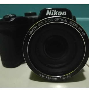 Cámara Nikon B500 Full Hd, 40x De Zoom.