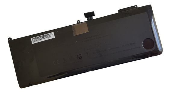 Bateria Para Apple Macbook Pro A1321 | 6660mah Preto