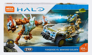 Mega Construx Halo Jeep Forgeohg Banished Lego Bloques Armar