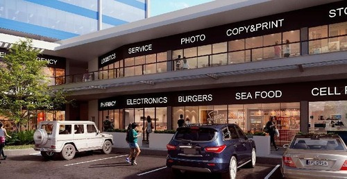 Local Comercial De 59.40 M2, En Planta Baja, Plaza Comercial Cerca Del Aeropuerto