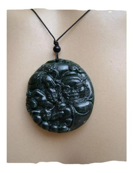 Pingente Zhong Kui Proteção Contra Maus Espíritos