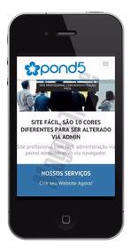 Site Para Empresas, Institucional, Com Admin + Responsivo
