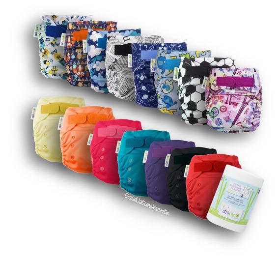 15 Pack Ecopipo 8 Est +7 Liso 1 Rollo -10% Incl
