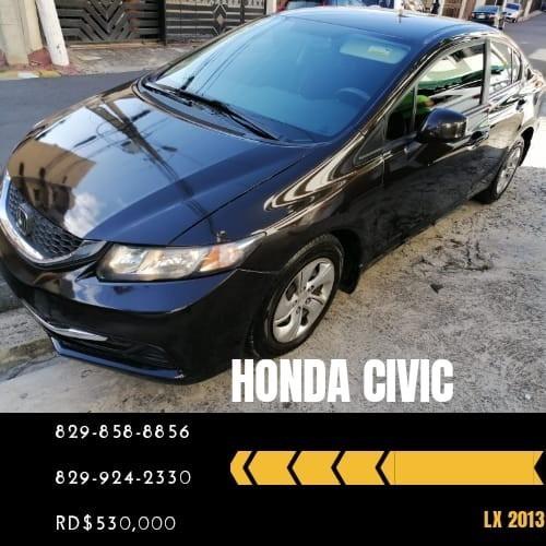 Honda Civic 2013 Lx Americano 110,000 Km