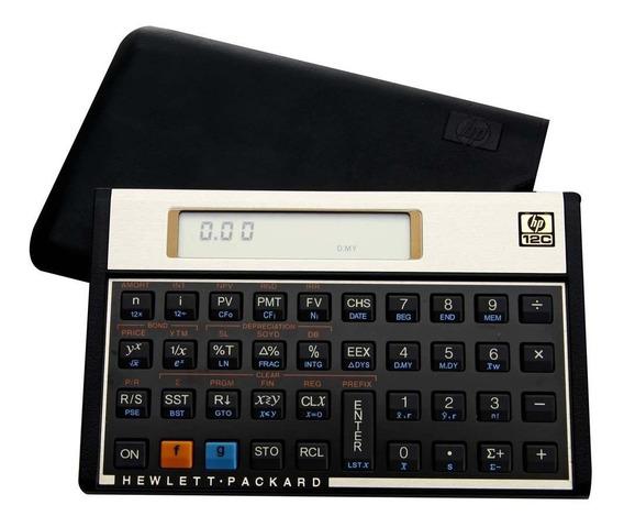 Calculadora Financeira Hp 120 Funções 12c Gold - Vitrine