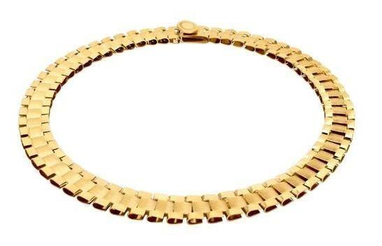 Pulsera Bizzarro Oro Amarillo 21 Cm-r6-21