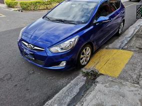 Hyundai Accent Blue 2014 Automatico Hibrido Gas Lp