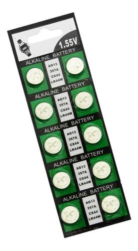 Set 10 Pilas Ag13/lr-44 1.55v
