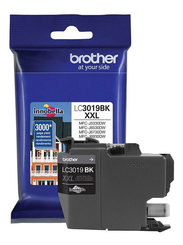 Cartucho Brother Lc3019 Bk Original Districomp