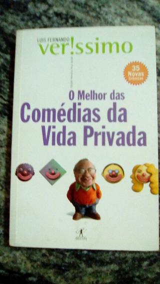Livro O Melhor Das Comédias Da Vida Privada - Luis F.