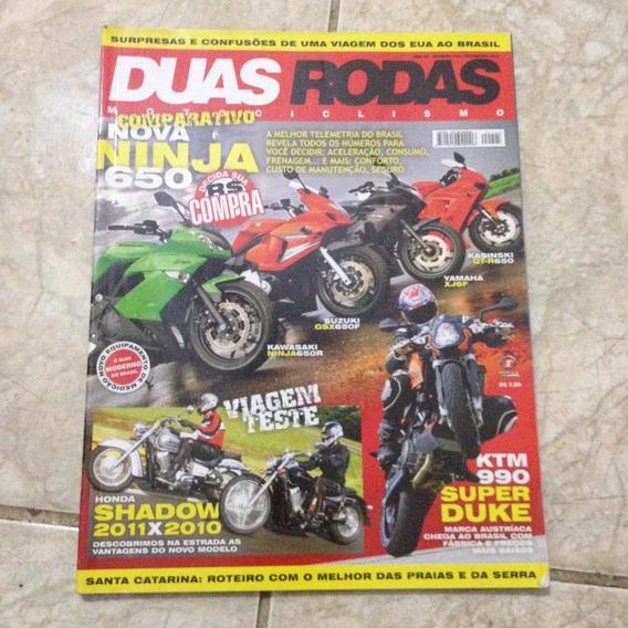 Revista Duas Rodas 428 Fev2011 Ninja 650 Ktm 990 Duke C2