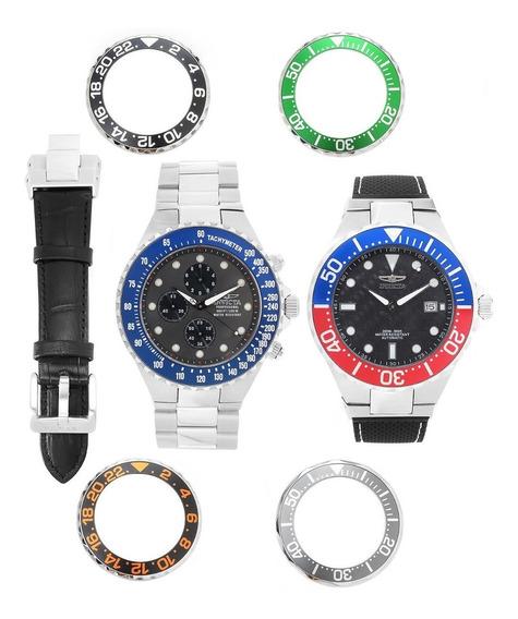 Reloj Invicta Set 2 Relojes Automático Colección Nuevo T E R