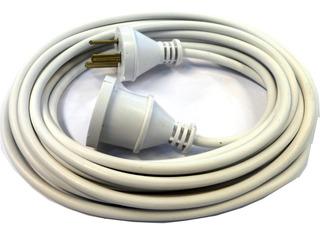 Prolongador Electrico 5 Mts Blanco 3 Patas 10a E6082