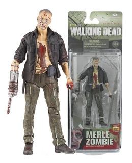 Merle Zombie Walking Dead Mcfarlane Serie 5 Nueva Blister