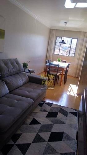 Apartamento Com 2 Dormitórios À Venda, 75 M² Por R$ 253.000 - Jardim Dourado - Guarulhos/sp - Ap2091