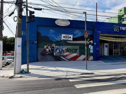 Salão Para Alugar, 225 M² Por R$ 3.900,00 - Jardim Iguatemi - São Paulo/sp - Sl0094