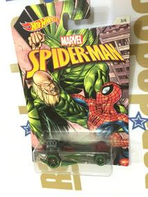 Hot Wheels Carro Homem-aranha Power Bomb Série Marvel 2016