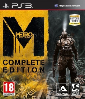 Metro Last Light - Complete Edition ~ Ps3 Digital Español