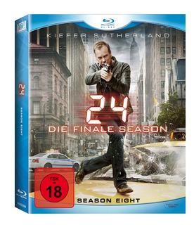 Blu-ray 24 Horas 8ª Oitava Temporada 6 Discos Luva Lacrado