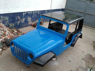 Carroceria Jeep Fibra Replica Wrangler