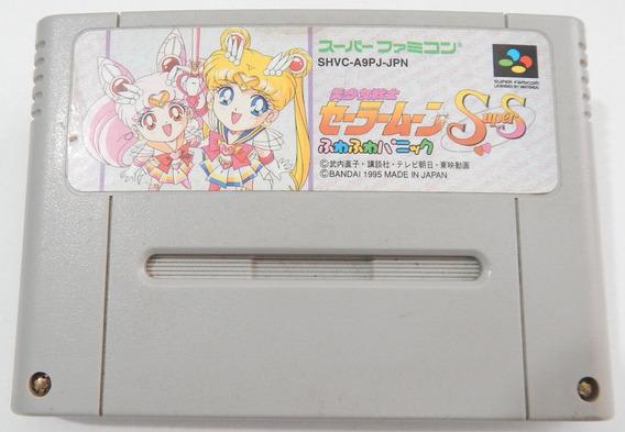 Super Nintendo - Sailor Moon S Fuwa Panic - Japones Original