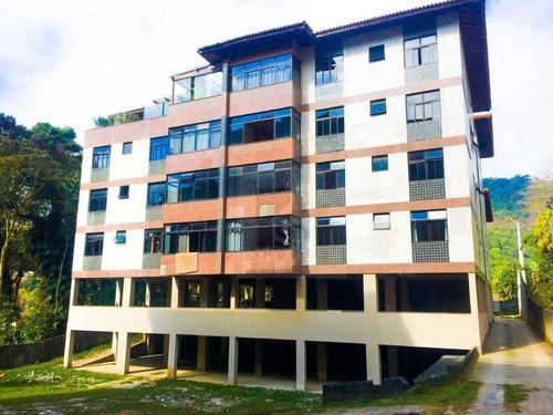 Imagem 1 de 24 de Apartamento 3 Quartos + 1 Quarto De Hóspedes À Venda Por R$ 450.000 - Alto - Teresópolis/rj - Ap1188