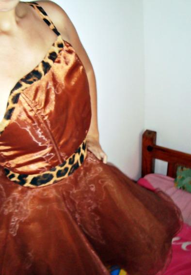 Vestido De Fiesta Animal Print