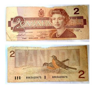 Antiguo Billete Bank Of Canada