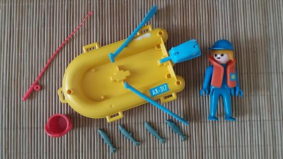 Lote 6107- Pescador Set 3574 Incomp. - Playmobil
