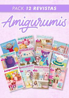 Pack 12 Revistas Crochet Amigurumis - Arcadia Ediciones