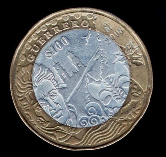 Moneda 100 Pesos Estado Guerrero 2 Etapa P 156