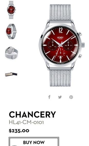 Reloj Henry London 41mm