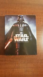 Star Wars The Complete Saga Blu-ray (pelis 1 Al 6 + Extras)