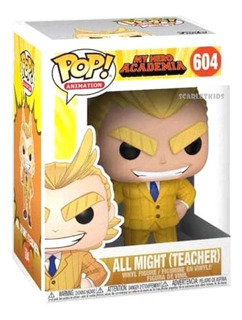 Funko Pop All Might My Hero Academia 604 Orig Scarlet Kids