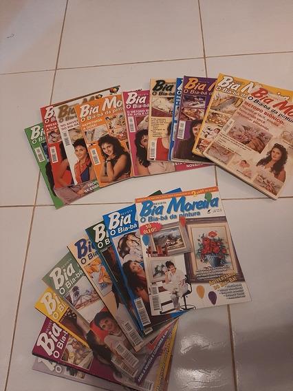 Revista De Pintura Em Tecido. Bia Moreira - Coleção 1 A 20
