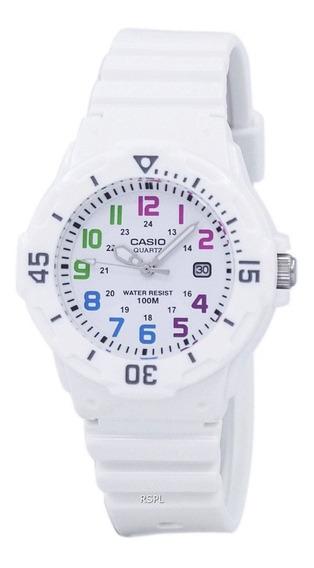 Reloj Mujer Casio Lrw-200h-7bv Análogo Retro / Lhua Store