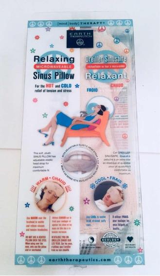 Relaxing Sinus Pillow, Almohadilla Antiestrés Frío Y Calient