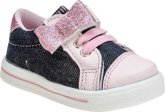 Tenis Infantil Feminino Bebe Menina Flamingo Unicórnio Poá