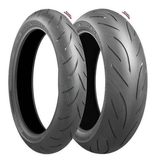 Pneus Bridgestone Battlax S21 120/70 R17 E 190/50 R17